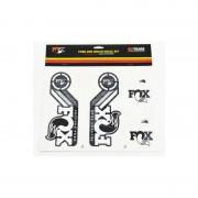 Fox Racing Shox Fork and Shock Decal Kit Media biały Media