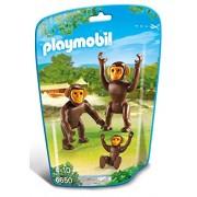 Playmobil 6650 - Famiglia di Scimpanzé