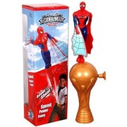 Flying Spiderman Spinning Spider-Man Wind Up Toys Kid Children Rope Action Toy READY Shoot Fly TOY BIRTHDAY GIFT