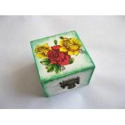 cutie lemn decorata 23110
