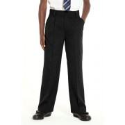 Next Pleat Trousers (3-16yrs) - Black