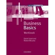 Business Basics International Edition: Workbook by David Grant