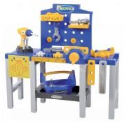 Écoiffier atelier de lucru Mecanics 2450 albastru-galben