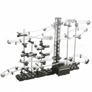 Level 2 DIY Educational Roller Coasters Toy - Black + White