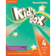 Kid's Box Level 4 Activity Book with Online Resources by Caroline Nixon