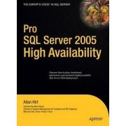 Pro SQL Server 2005 High Availability by Allan Hirt