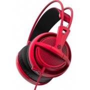 Casti Gaming SteelSeries Siberia 200, Microfon (Forged Red)