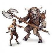 Chronicles of Narnia Prince Caspian Basic Figure 2Pack Faun Mentius & Minotaur Asterius