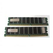 Hypertec AA634A-HY - Modulo di memoria DIMM PC2100 equivalente Hewlett Packard, 1 GB