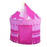 Anyshock[Tent Series] Kids/Girl's Pink Princess Castle Play Tent As a gift Great for Indoor and Outdoor