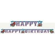 Thomas a gőzmozdony Happy Birthday felirat 180 cm