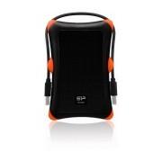 Disco Duro Externo Silicon Power Armor A30 2.5'', 1TB, USB 2.0/3.0, Negro, A Prueba de Golpes - para Mac/PC