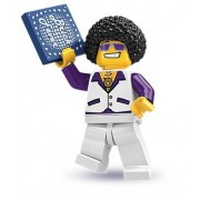 Lego Collectable Minifigures: Disco King Minifigure - Series 2 - Bagged