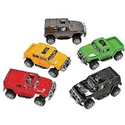 Fun Express Pullback SUV Assortment Party Favor Toy - 12 pieces