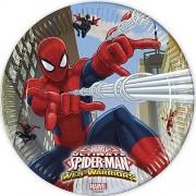 PARTY STREET 10 Piatti The Ultimate Spiderman Cm 23