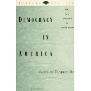 Democracy in America Volume One # by Alexis de Tocqueville