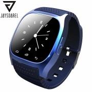 JAYSDAREL M26 Bluetooth Smart Watch For Android iOS Sync Phone Call Pedometer Anti-Lost Wrist Smartwatch PK GT08 DZ09 GV18 U8