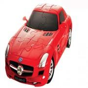 3 D Super Car Puzzle 62 Pcs Mercedes Bens Sls Amg Gt Car
