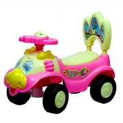 NOVICZ Kids Ride On Car Riding Toy Car for Children with Music - Rider Car With Pull Along Rope