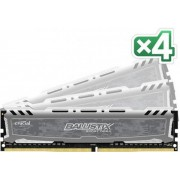 Memorii Crucial Ballistix Sport LT DDR4, 4x8GB, 2400 MHz, CL 16