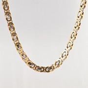 cadeia titaium teel jóias colar de corrente cabo dos homens Fahion