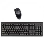 клавиатура и мишка A4 KM-720 USB + OP-620D BLACK