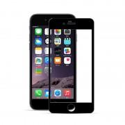 Folie sticla 3D margini silicon Iphone 6/6S Negru