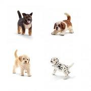 Schleich Dog Puppy Gift Set - Schleich Dogs and Puppies