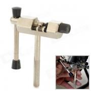 ROSWHEEL 23066-1 Cycling Bicycle Bike Steel Chain Breaker Splitter Cutter Solid Repair Tool - Silver