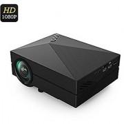 Microware GM60 Multimedia Beamer Portable Home Theatre Projector 1000 Lumens