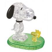 Jeruel 59132 - Crystal Puzzle, Mattoncini da costruzione, soggetto: Snoopy e Woodstock