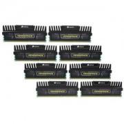 Memorie Corsair Vengeance 64GB (8x8GB) DDR3, 1600MHz, PC3-12800, CL9, XMP, Quad Channel, Octo Kit, CMZ64GX3M8A1600C9
