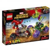 LEGO® SUPER HEROES HULK CONTRA HULK CEL ROSU - 76078