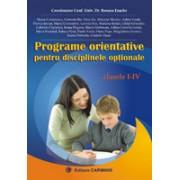 Programe orientative pentru disciplinele optionale.