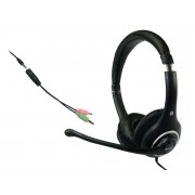 Casti Sandberg Plug'n Talk Headset Black