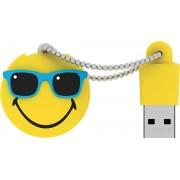 Emtec USB-sticks Smiley World Mr Hawaii, 8GB