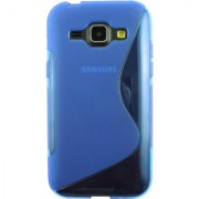 Emartbuy Samsung Galaxy J2 ( 2016 ) SM-J200 Ultra Slim Gel Skin Case Cover Blue