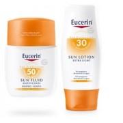 Pack Eucerin Sun Fluido Matificante SPF 50+ + Eucerin Sun Lotion SPF30+