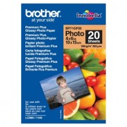 Brother BP-71GP20 Premium Glossy Paper 20 Sheets, Size:102 x 152mm (4 X 6 Inches), Weight:260 gsm