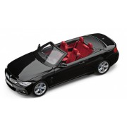 Miniatura BMW Seria 4 Cabrio F33 1:43 Sapphire Black