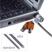 Microsaver Keyed Ultra Laptop Lock, 6ft Steel Cable, Two Keys