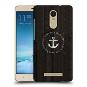 Snoogg Trust Worthy Anchor Designer Protective Back Case Cover For REDMI NOTE 3
