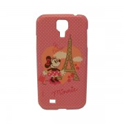Funda Protector Mobo Samsung Galaxy S4 Minnie Paris / Rosa