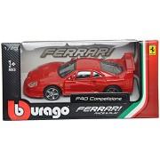 Bburago Ferrari F40 Competizione Scale-1:43 Die Cast Toy Car (Red)