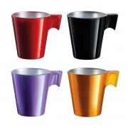 Luminarc Flashy Expresso 4 darabos kávéscsésze 8 cl-es