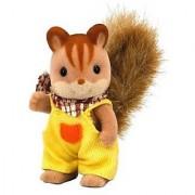 Boys Sylvanian Families Doll Walnut Walnut Squirrel Squirrel Family (Japan Import)