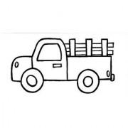 Paintadoodle 12 X 24 Pick-Up Truck Painting Kit
