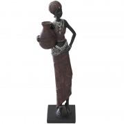 Africana Decorativa de Resina Ref-qc0453