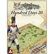 Hundred Days 20 - Napoleonic War Boxed Strategy Board Game - Waterloo and Tolentino by Victory Point Games