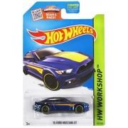 Hot Wheels, 2015 HW Workshop, '15 Ford Mustang GT [Blue] Die-Cast Vehicle #247/250 by Hot Wheels